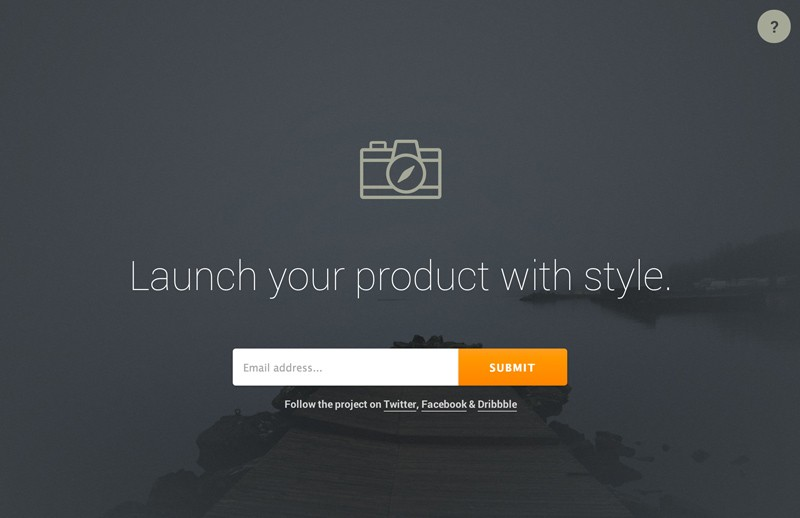 Responsive HTML5 Landing Page