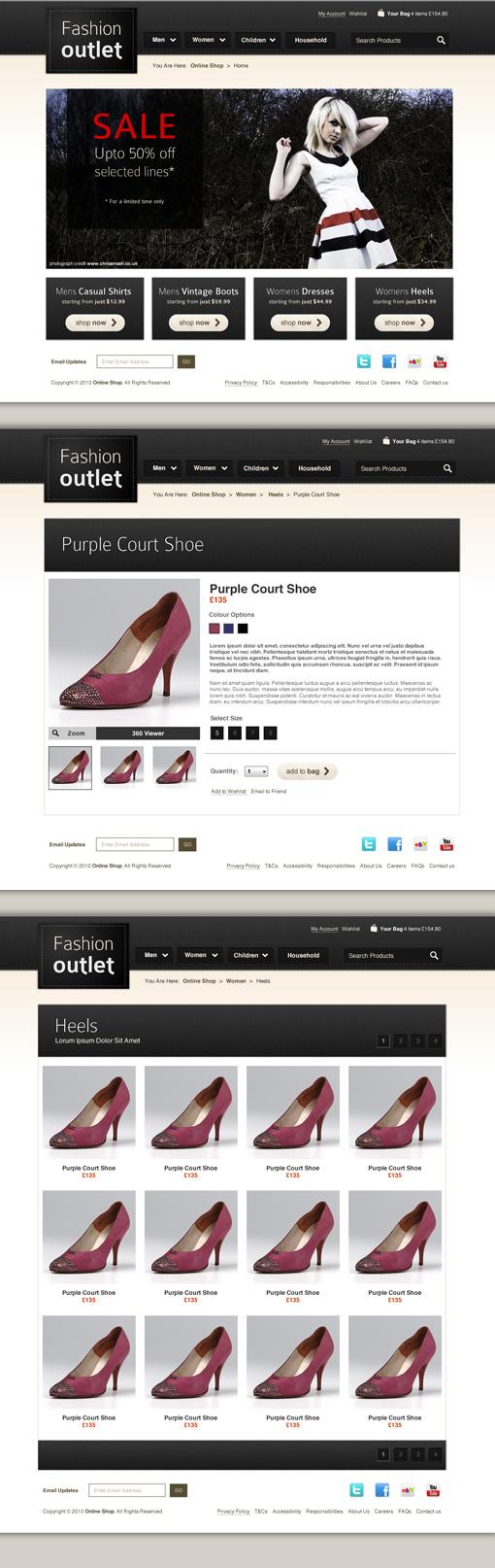 Luxury eCommerce Website Template
