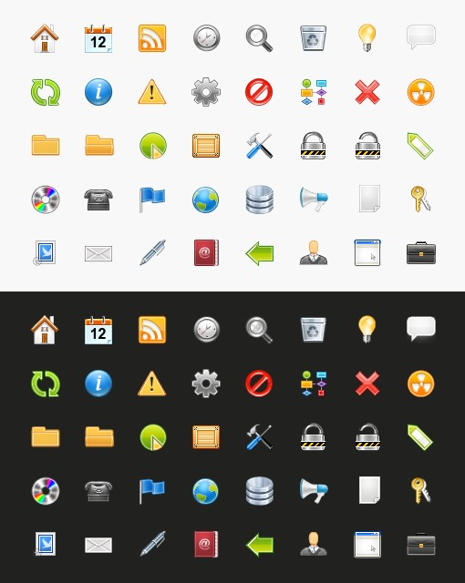 Large Medialoot Sweet Icon Set Preview