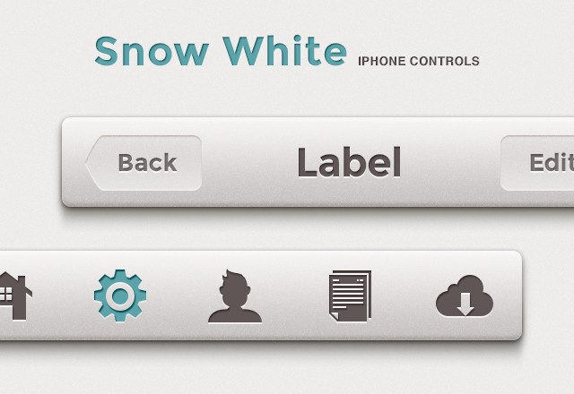 Snow White iPhone Controls