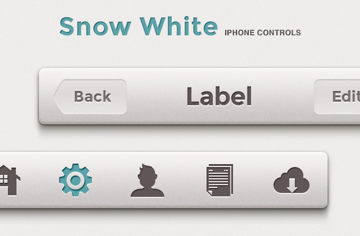 Snow White iPhone Controls