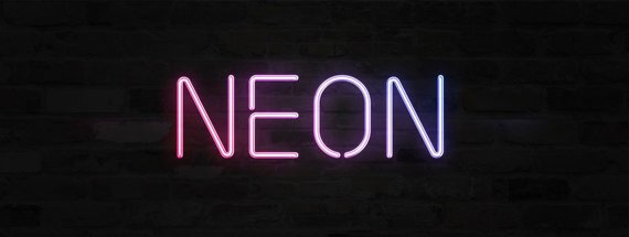 10+ Beautiful Neon Sign Fonts and Effects