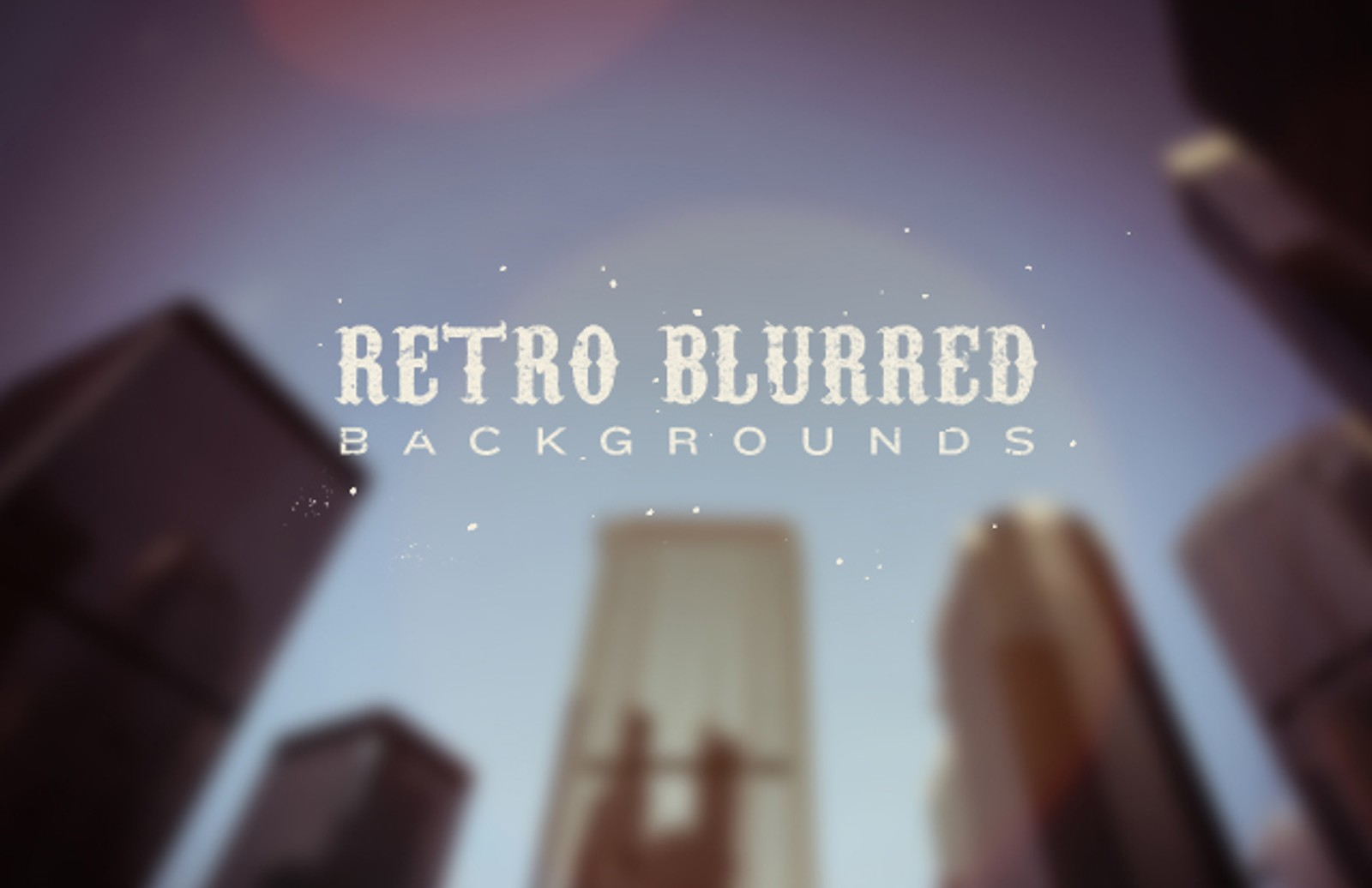 Retro Blurred B 1