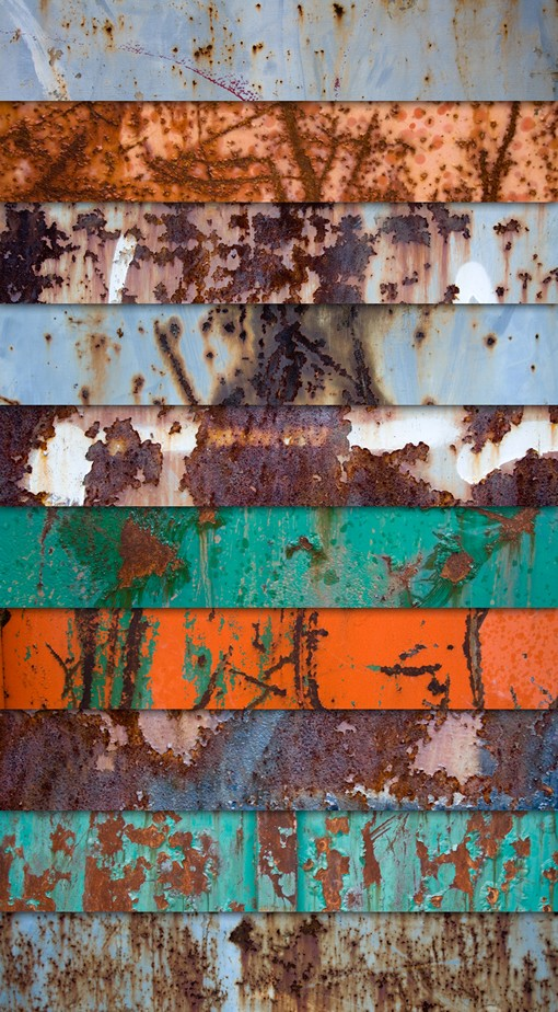 Large Rust Textures