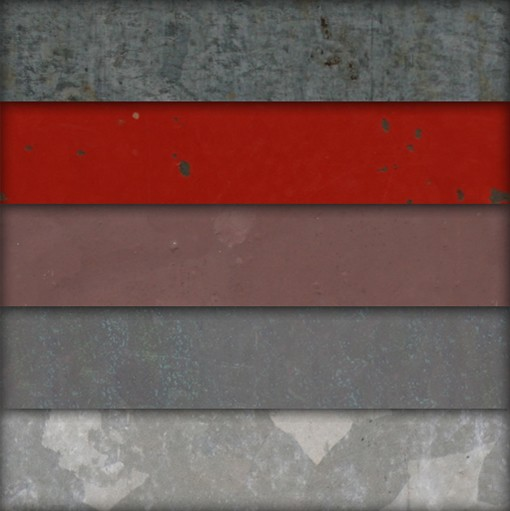 Large Seamless Metal Textures