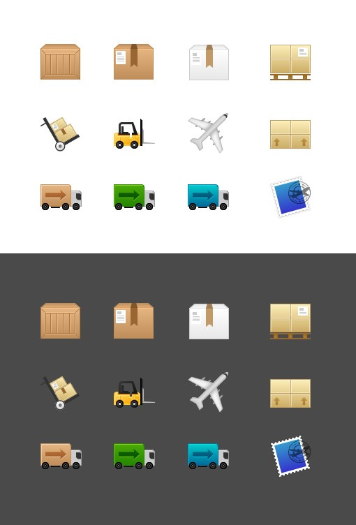 Shipping & Freight 64px Icons